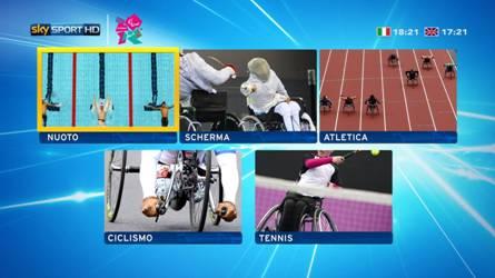 Su Sky le Paraolimpiadi Londra 2012, con 5 canali in Alta Definizione HD dedicati e mosaico interattivo | Digitale terrestre: Dtti.it