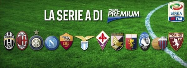 Serie A, il programma della prima e seconda giornata su Mediaset Premium