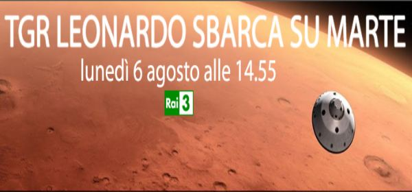 TGR Leonardo sbarca su Marte