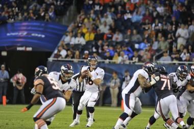 Peyton Manning - Denver Broncos - August 9, 2012
