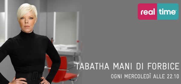 "Dal 24 Ottobre torna Tabatha Coffey su Real Time in ""Tabatha mani di forbice"" 
