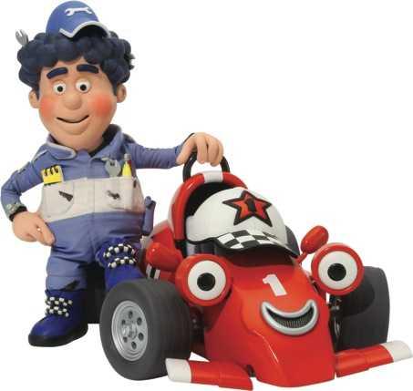 Roary L'Auto da corsa con la voce di Alex Zanardi da lunedì su Nick JR