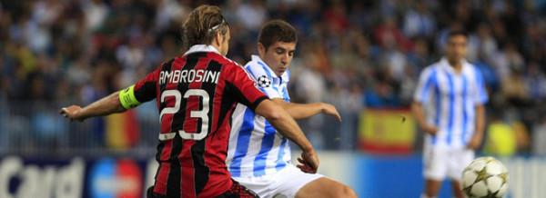 Champions League, Milan - Malaga: diretta su Mediaset Premium