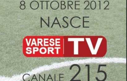 "Lo sport di Varese? Sul canale 215 del digitale terrestre. Nasce ""Varese sport tv""."