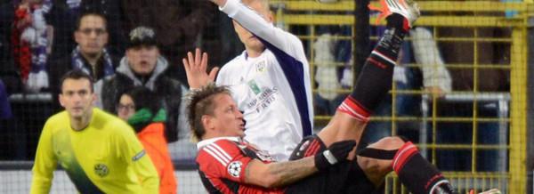Anderlecht vs Milan - UEFA Champions League 2012/2013