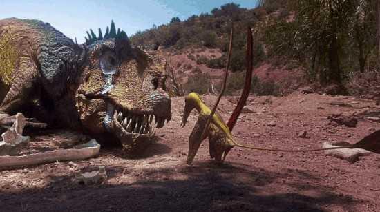 "Questa sera su DMAX un'avventura preistorica con ""Dinosaur Revolution"""