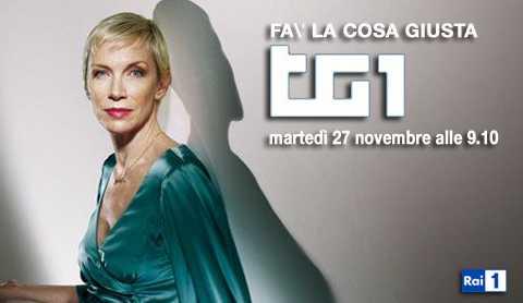 TG1 Fa' la cosa giusta ospita Annie Lennox | Digitale terrestre: Dtti.it