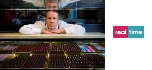 """Real Time: dal 7 Dicembre arriva il gran pasticcere e maitre chocolatier Ernst Knam in """"Il Re del cioccolato""""   Digitale terrestre: Dtti.it"""