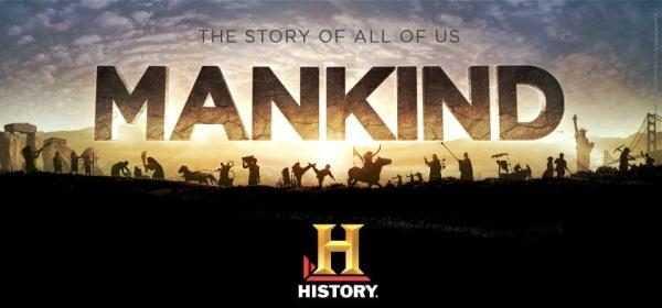 """Su Histori """"Mankind"""", il docu-kolossal sull'avventura dell'umanità"""