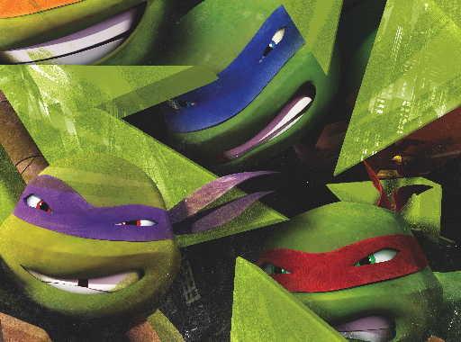 L'attesa è finita! Da domani arrivano le Tartarughe Ninja | Digitale terrestre: Dtti.it