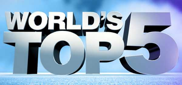 "Su Discovery Channel arriva la nuova serie ""World's Top 5"" | Digitale terrestre: Dtti.it"