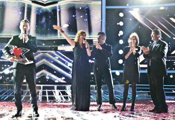 La finale di X Factor sfonda il milione di spettatori medi al primo passaggio