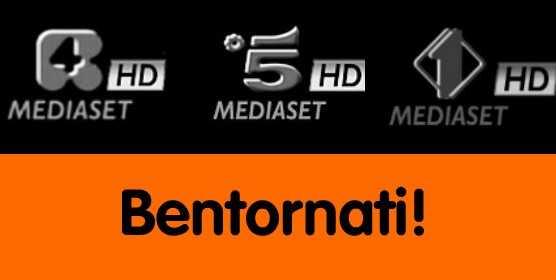 Mediaset: tornano Canale 5 HD e Rete 4 HD | Digitale terrestre: Dtti.it
