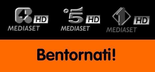 Mediaset: tornano Canale 5 HD e Rete 4 HD   Digitale terrestre: Dtti.it