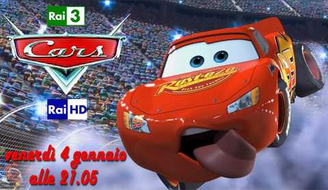 "Su Rai 1 e in HD motori ruggenti con ""Cars"" 