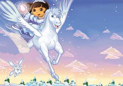 Festeggia il giorno della Befana con Dora, solo su NickJr. | Digitale terrestre: Dtti.it