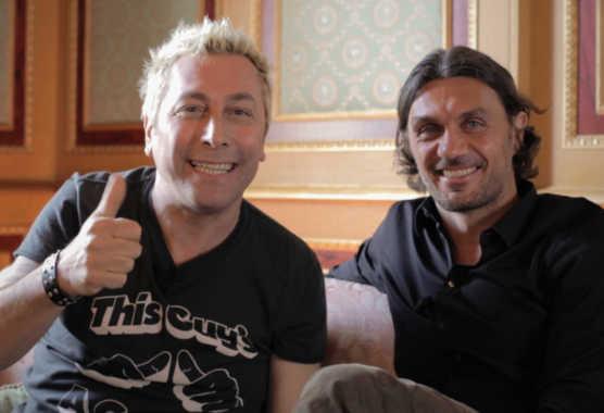 DJ Ringo intervista Paolo Maldini in prima tv su ESPN Classic | Digitale terrestre: Dtti.it