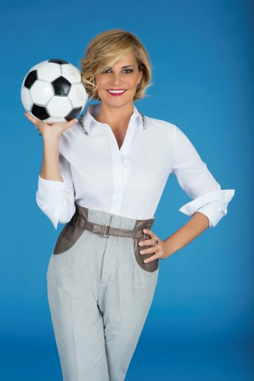 """Domani nuovo appuntamento con """"Cielo che gol"""", ospite Nancy Brilli"""