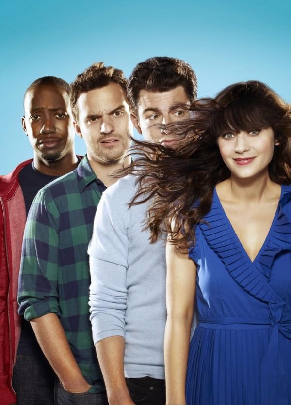 MTV_NEW GIRL_Winston (Lamorne Morris)_Nick (Jake Johnson)_Schmidt (Max Greenfield)_Jess (Zooey Deschanel) (2)