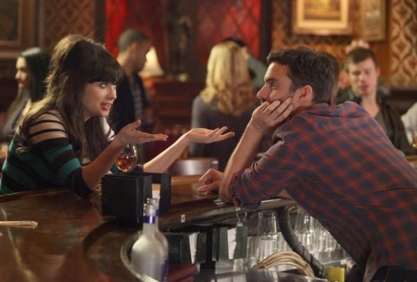 MTV_New Girl_Jess (Zooey Deschanel)_Nick (Jake Johnson)