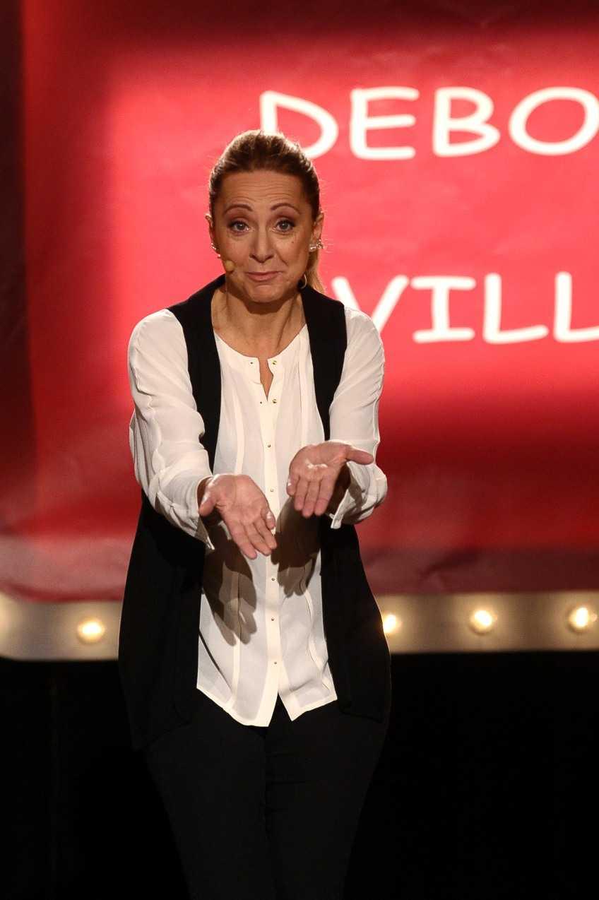 Debora Villa one woman show per Palco doppio palco su Comedy Central | Digitale terrestre: Dtti.it