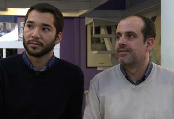 """Servizio Babzine """"Amore senza confine"""", Marco ed Erick si amano ma uno dei partner è straniero   Digitale terrestre: Dtti.it"""