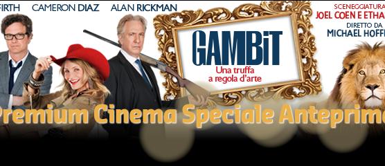 "Speciale anteprima ""Gambit"" su Premium Cinema   Digitale terrestre: Dtti.it"