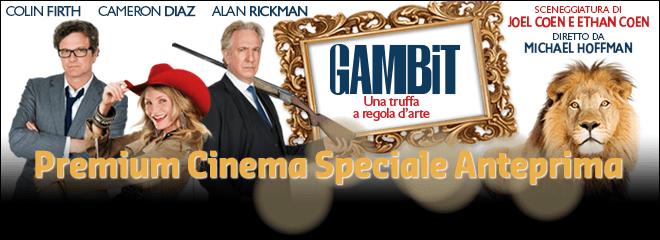 "Speciale anteprima ""Gambit"" su Premium Cinema | Digitale terrestre: Dtti.it"