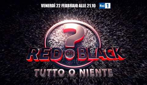 Rai1: Red or Black? Tutto o niente con Frizzi e Cirilli | Digitale terrestre: Dtti.it