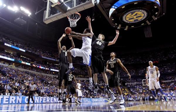 SEC Basketball Tournament - Quarterfinals - Vanderbilt v Kentucky