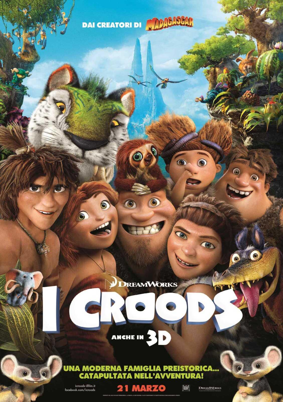 Aspettando I Croods, programmazione speciale Domenica su Sky Cinema | Digitale terrestre: Dtti.it