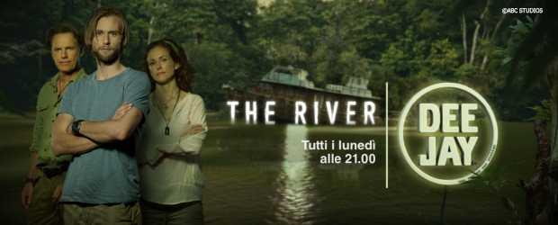 """Dal 18 Marzo su Deejay TV arriva la serie di Steven Spielberg """"The River""""   Digitale terrestre: Dtti.it"""