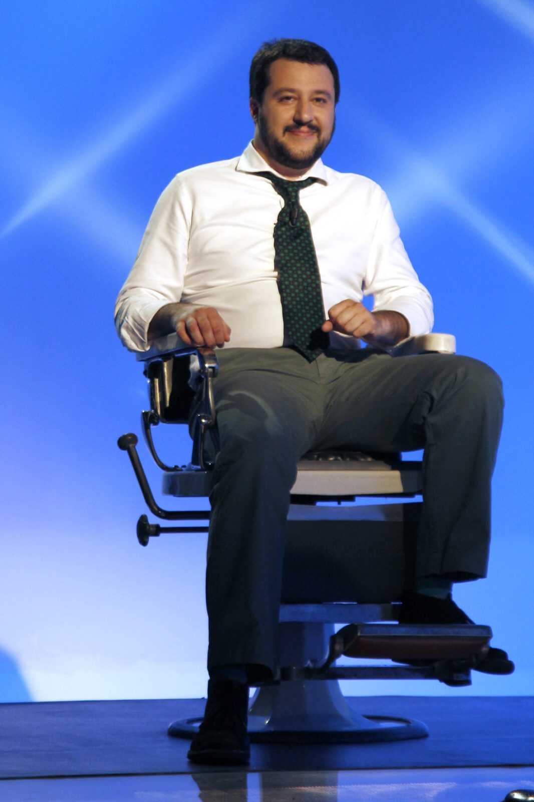 """La3: Matteo Salvini ospite questa sera a """"Reputescion""""   Digitale terrestre: Dtti.it"""
