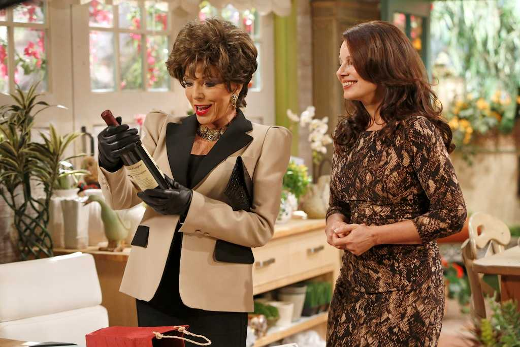 Cyndi Lauper e Joan Collins per la seconda stagione di Happily Divorced, su Comedy Central  | Digitale terrestre: Dtti.it