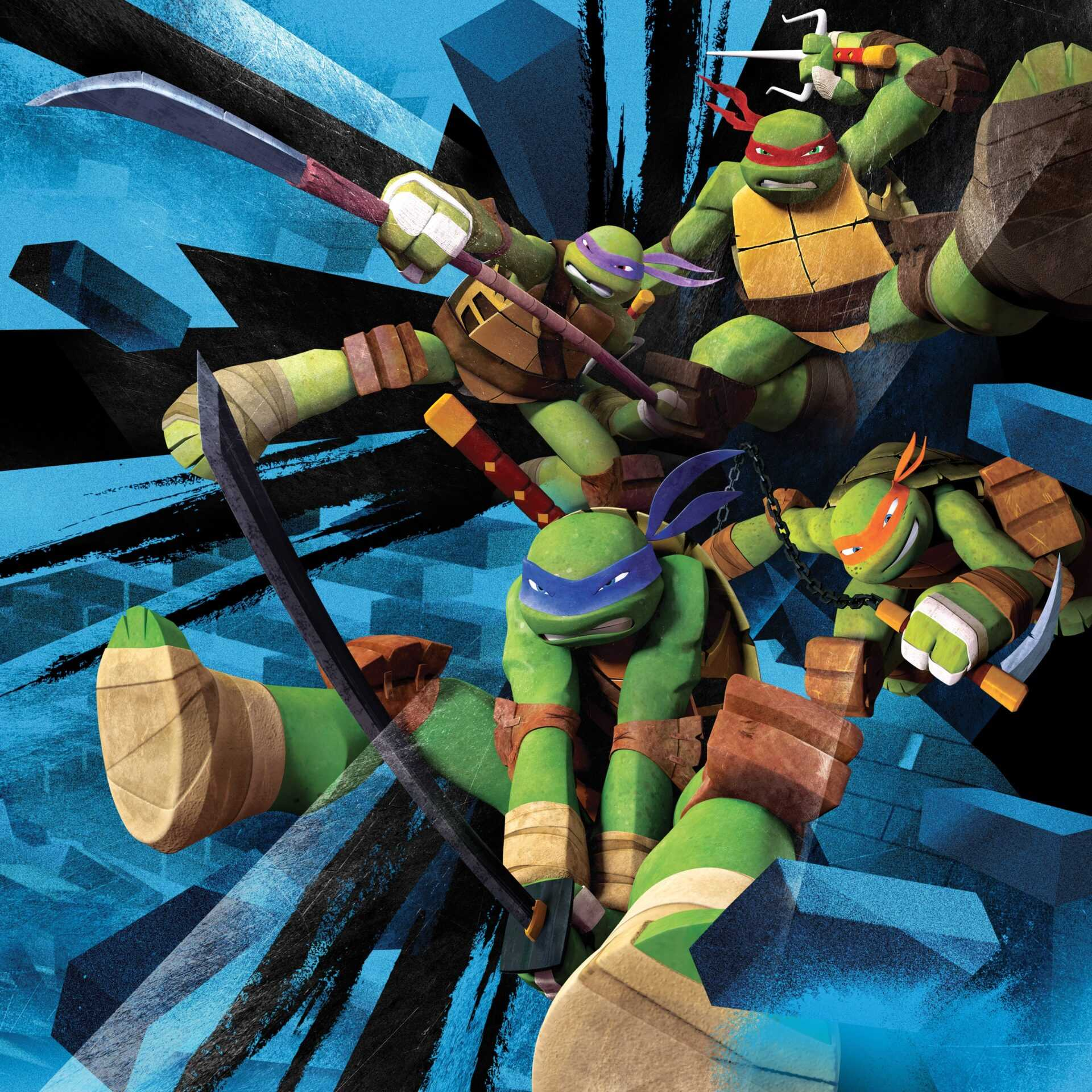 Teenage Mutant Ninja Turtle: le tartarughe Ninja arrivano su Super! | Digitale terrestre: Dtti.it