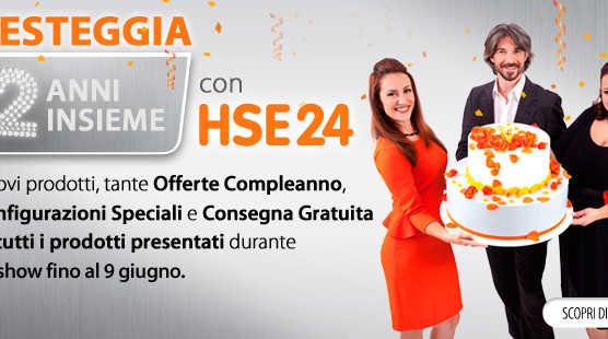HSE24 compie due anni!!!   Digitale terrestre: Dtti.it