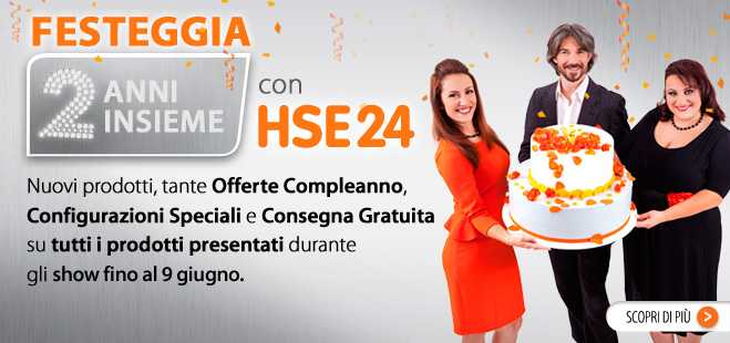 HSE24 compie due anni!!! | Digitale terrestre: Dtti.it