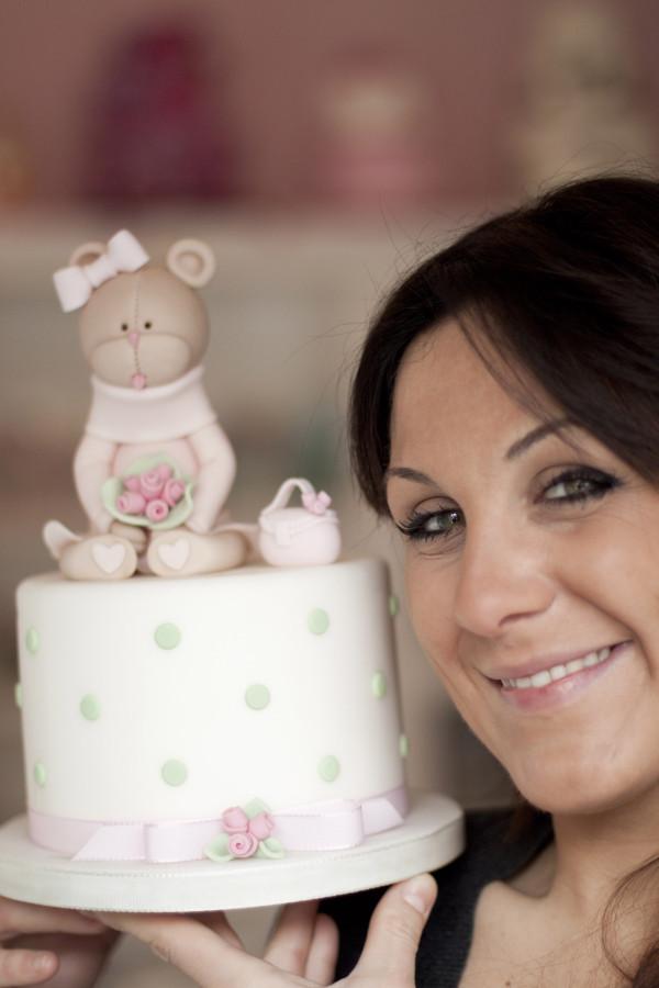 Paola Azzolina e torta