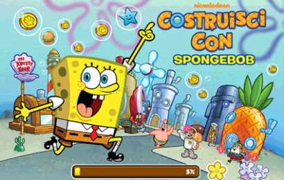 """Con Nickelodeon arriva il nuovo gioco """"Costruisci con Spongebob"""""""