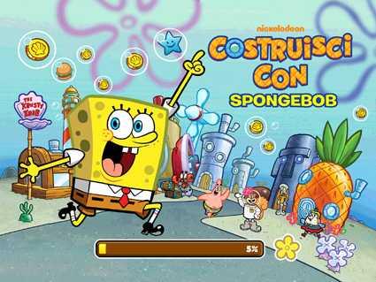 """Con Nickelodeon arriva il nuovo gioco """"Costruisci con Spongebob""""   Digitale terrestre: Dtti.it"""
