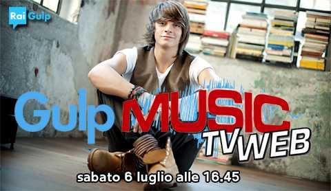 "Rai Gulp: a ""Gulp Music"" Alessandro Casillo | Digitale terrestre: Dtti.it"
