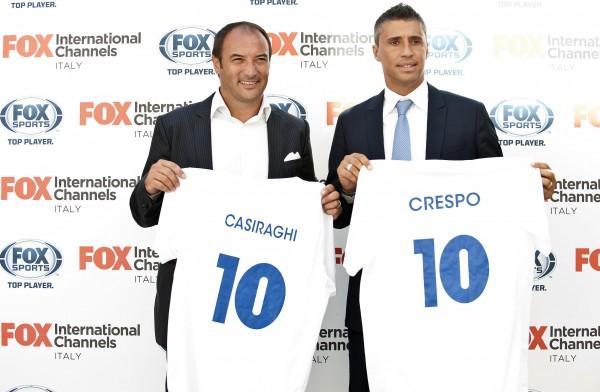 Pierluigi Casiraghi e Hernan Crespo