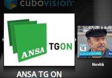 """Su Cubovision di Telecom parte """"Ansa TG On""""   Digitale terrestre: Dtti.it"""