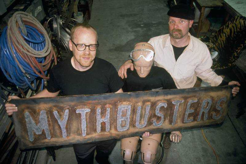 I Mythbusters Adam Savage e Jamie Hyneman tornano su DMAX a Settembre   Digitale terrestre: Dtti.it