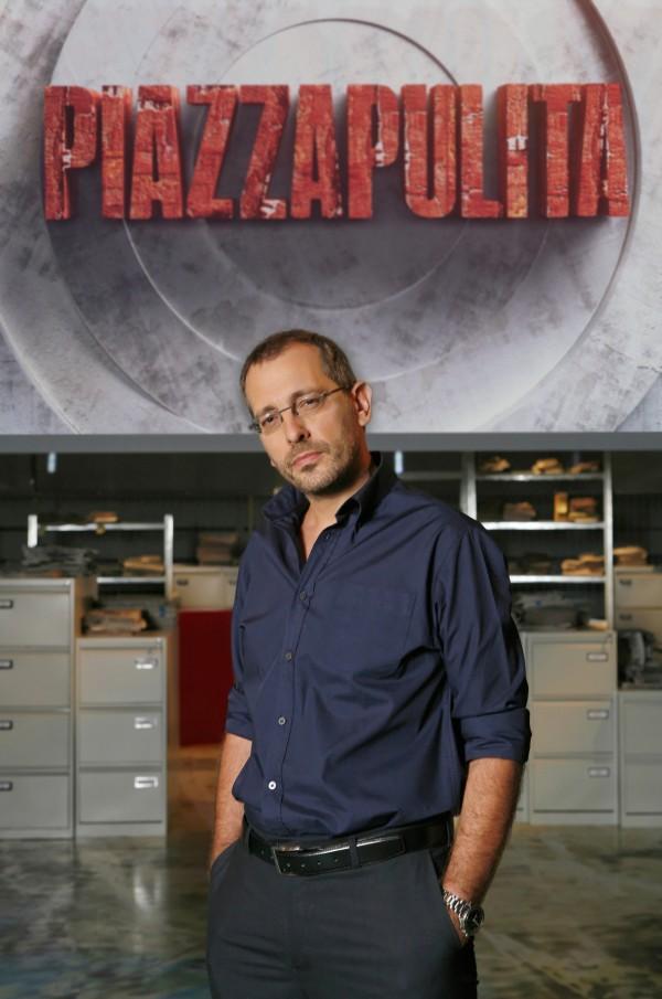 Corrado Formigli a Piazzapulita