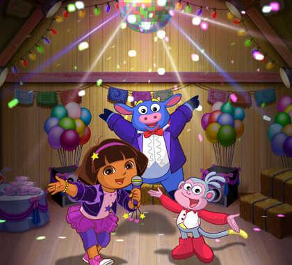 Oggi Dora Rockstar - episodio speciale solo su Nick Jr | Digitale terrestre: Dtti.it