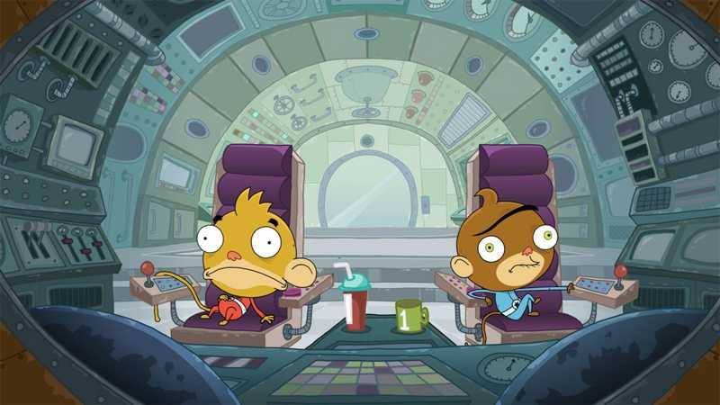 Rocket Monkeys: la nuova serie dal 23 Settembre su Nickelodeon | Digitale terrestre: Dtti.it