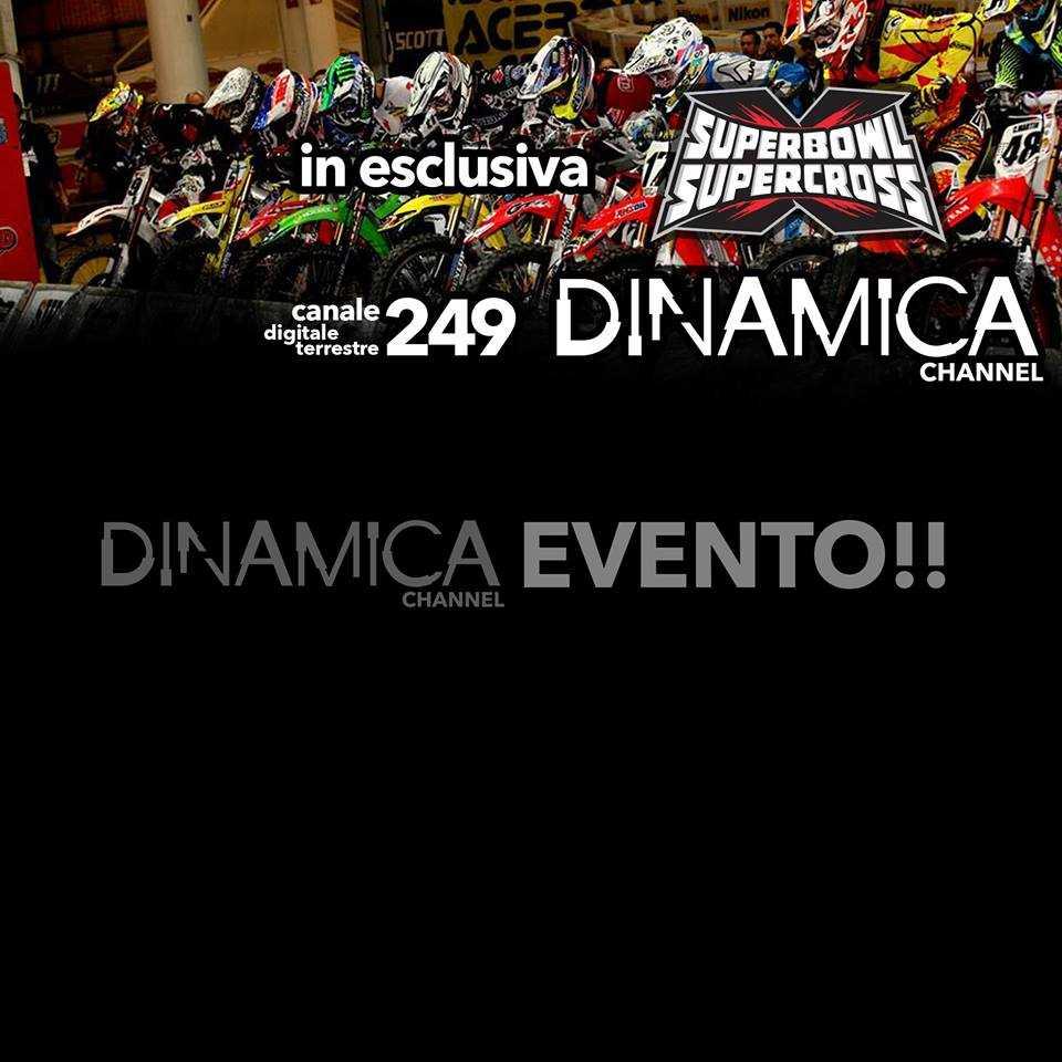 Supercross Genova in diretta su Dinamica Channel | Digitale terrestre: Dtti.it