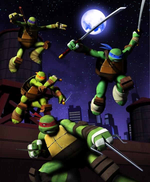 Nickelodeon: Ottobre, 4 maratone per le Tartarughe Ninja e un concorso per vincere Activision per Wii
