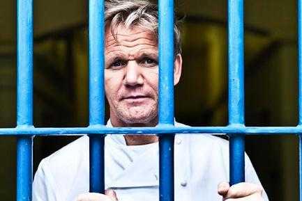 Ramsay: chef dietro le sbarre, dal 22 Ottobre Gordon Ramsay farà preparare i piatti ai detenuti